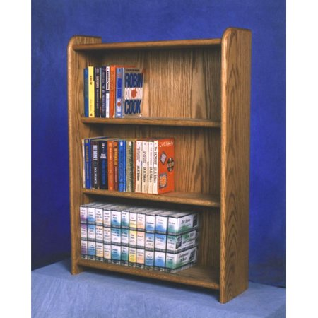 Wood Shed 300 Series 120 DVD Multimedia Storage Rack