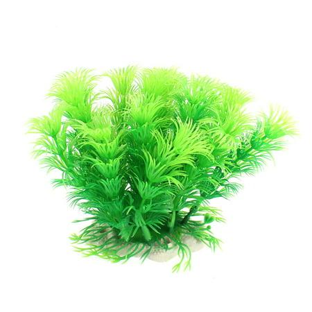 Unique Bargains Aquarium Artificial Aquatic Grass Plant Decor Green - image 3 of 3
