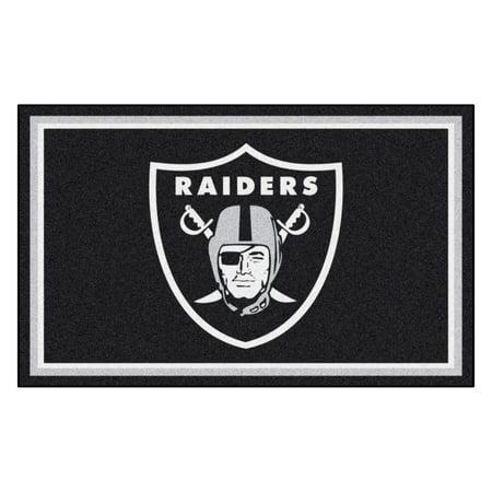 NFL - Oakland Raiders 4'x6' (Field Oakland Raiders Football Rug)