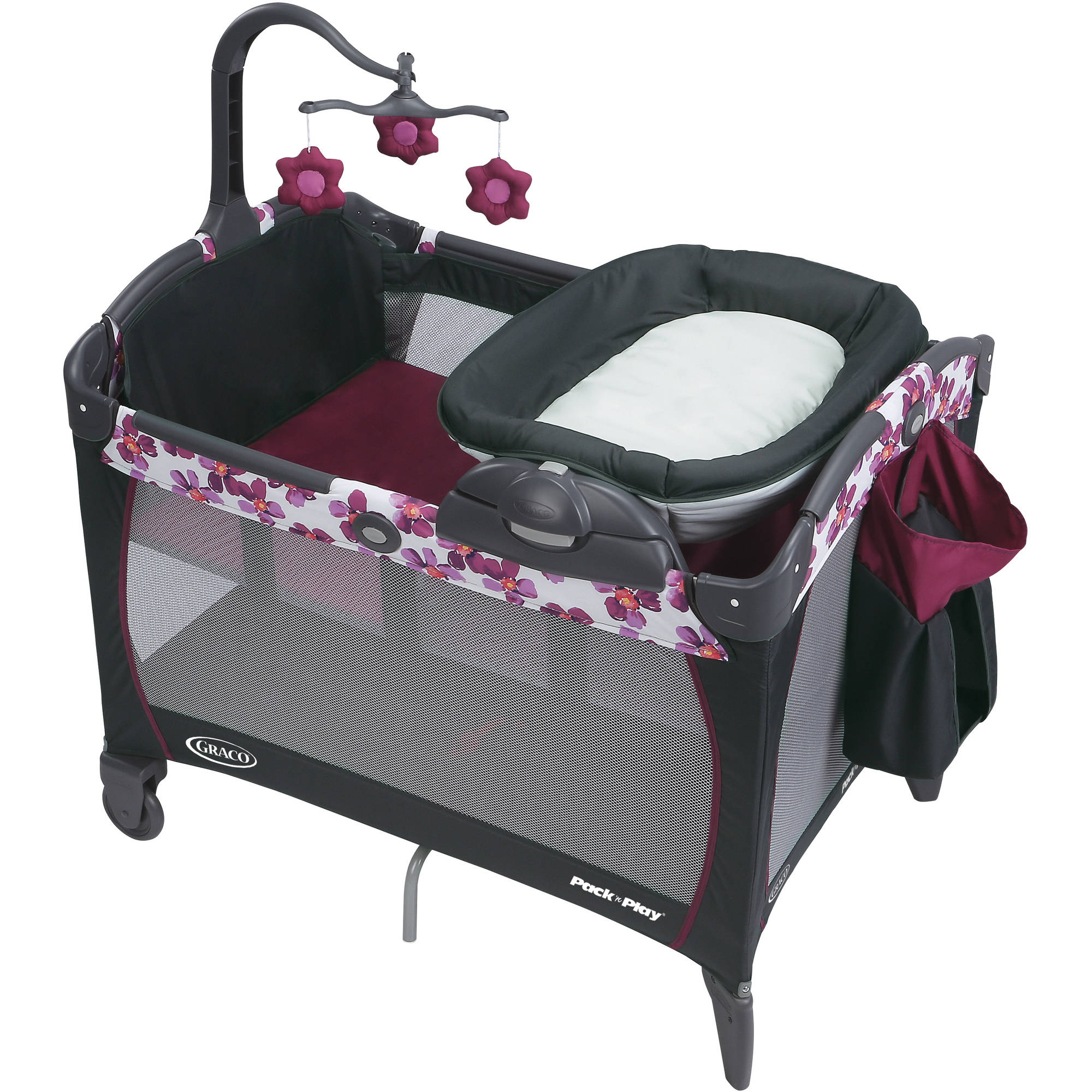 Graco Pack 'n Play Playard with Removable Napper Changer, Caris