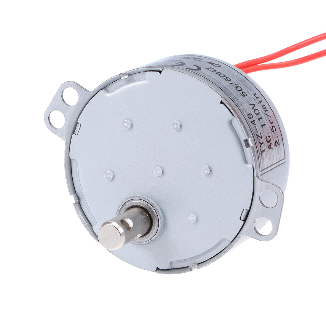 110V 50/60Hz 2.5RPM CW/CCW AC Synchronous Motor Turntable Gear Box for Microwave Oven