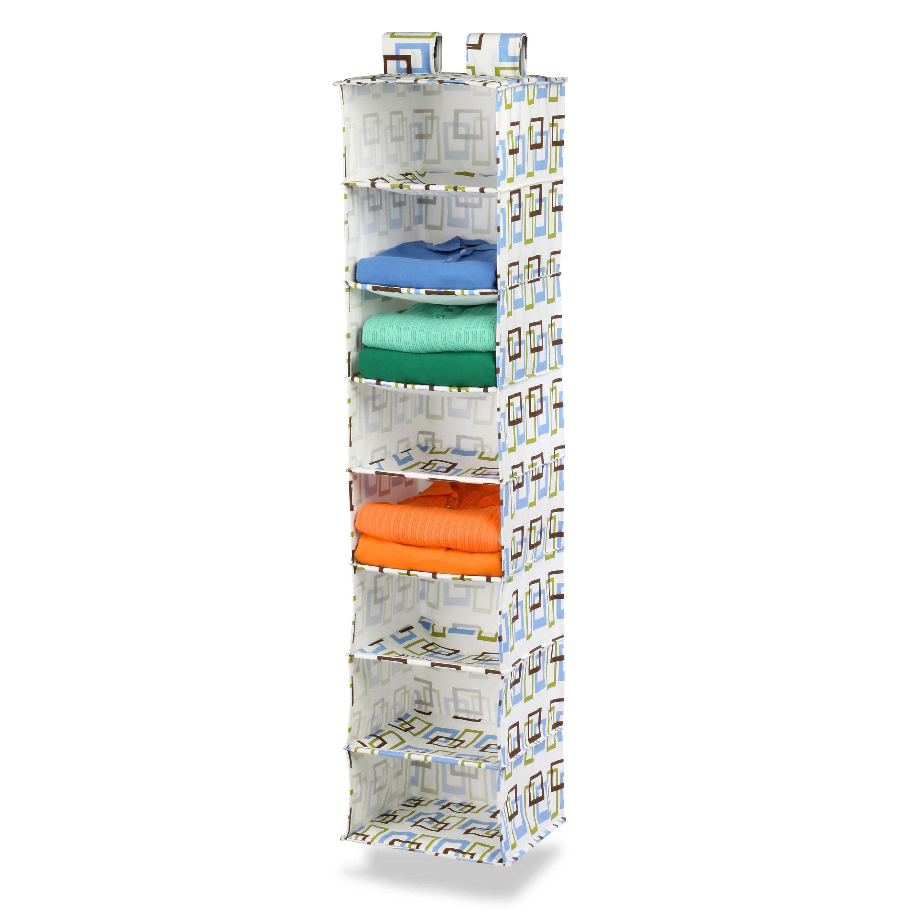 Honey Can Do 8-Shelf Hanging Organizer Vertical Closet by Honey Can Do