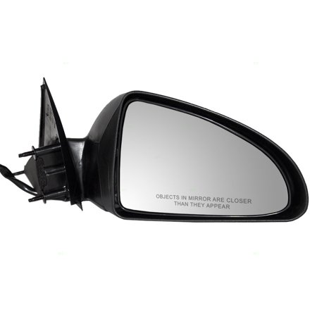 Passengers Power Side View Mirror Textured Replacement for Pontiac Sedan - Sedan Side View Mirror