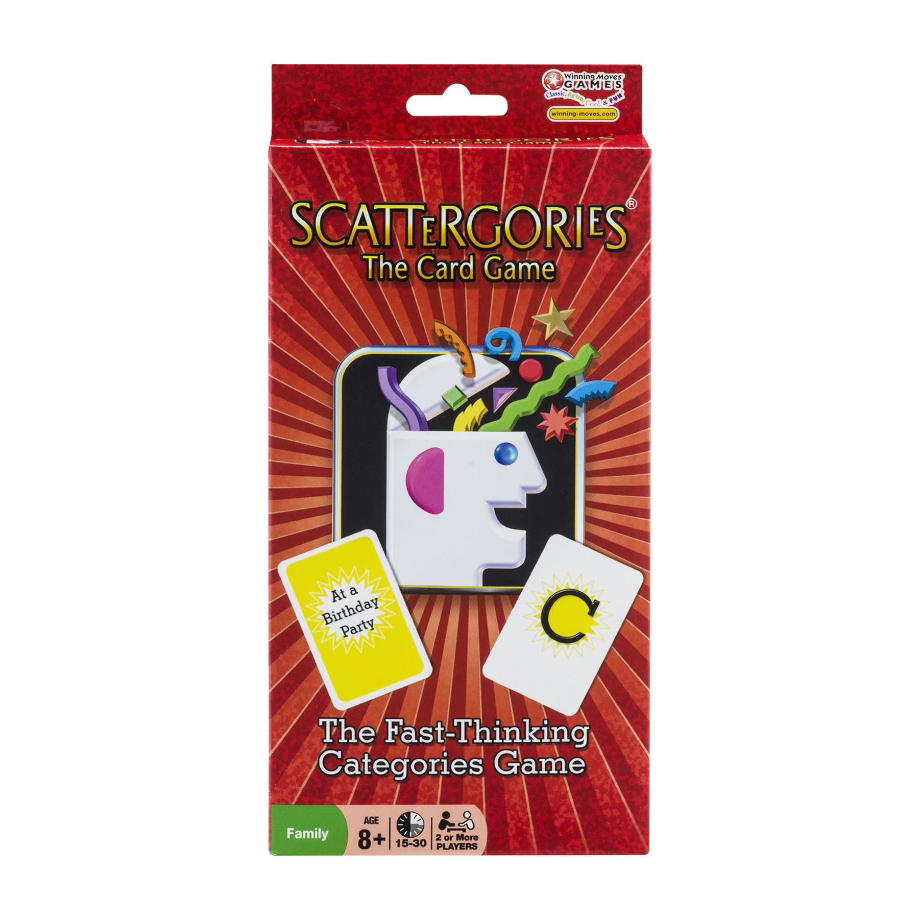 Scattergories The Card Game, 1.0 CT