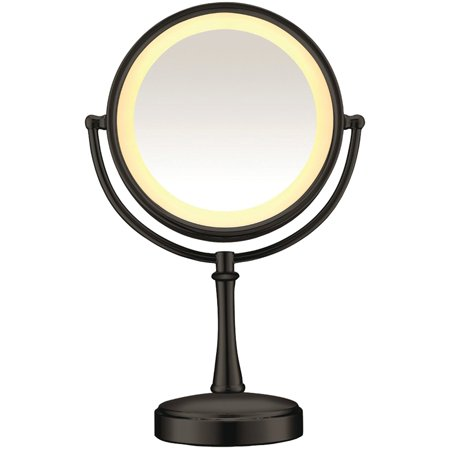 3 Way Touch Control Lighted Mirror Walmart Com