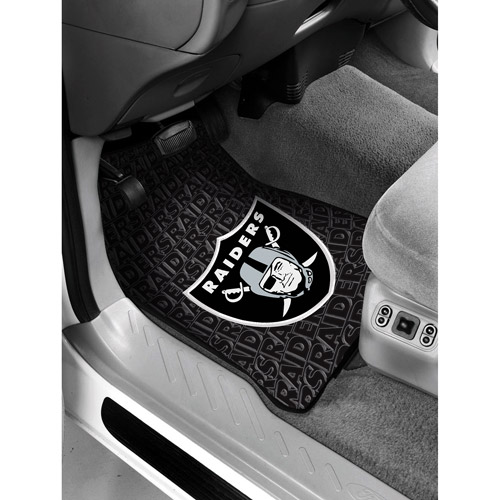 NFL - Oakland Raiders Floor Mats - Set of 2