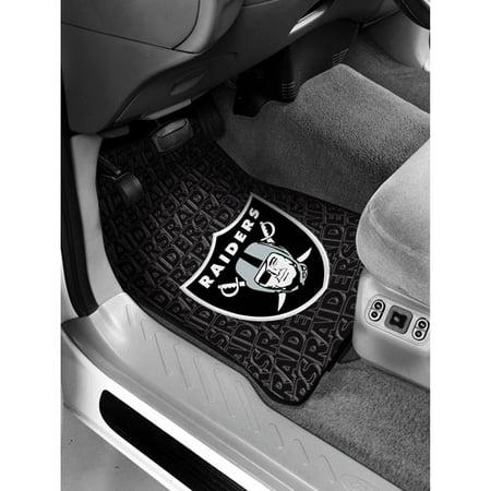 NFL Oakland Raiders Floor Mats Set of 2 by