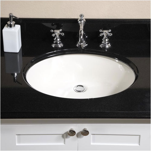 Empire Industries Lido Single Bowl Bathroom Vanity Top wi...