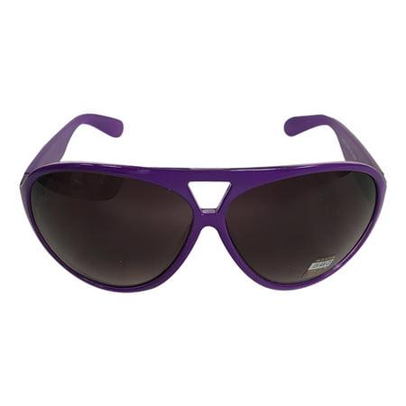 Purple Round Plastic Aviator Sunglasses The Dude Big Lebowski Jeffrey - Lebowski Costumes