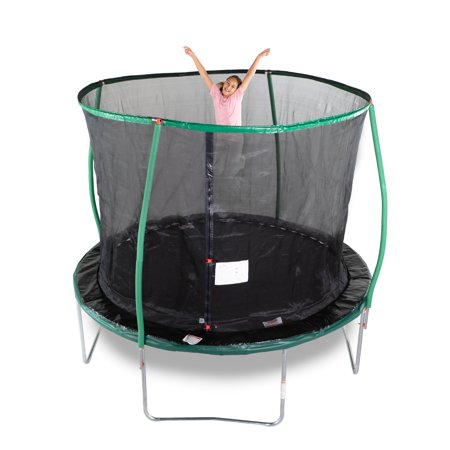 Bounce Pro 10 Foot Trampoline With Enclosure Flashlight Zone
