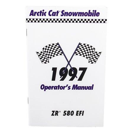 OEM 1997 ZR 250 EFI Owners Operators Manual Arctic Cat