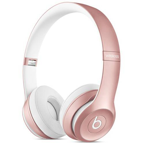 Beats by Dr Dre Solo 2 Wireless Rose Gold Headphones