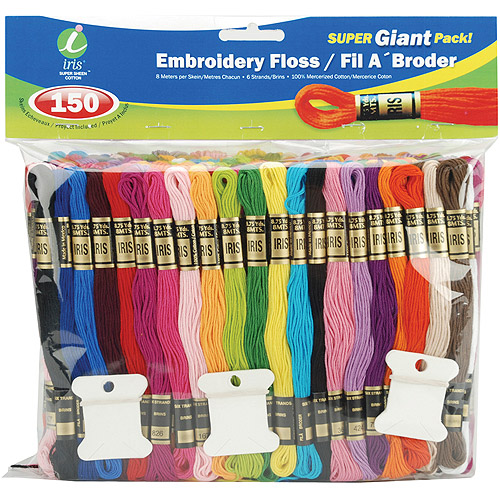 Embroidery Floss Super Giant Pack, 8m, 150pk