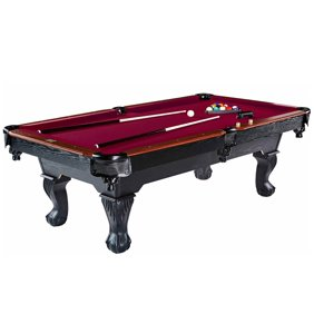 Sportcraft 7 5 Ball And Claw Billiard Pool Table With Cue Rack Accessories