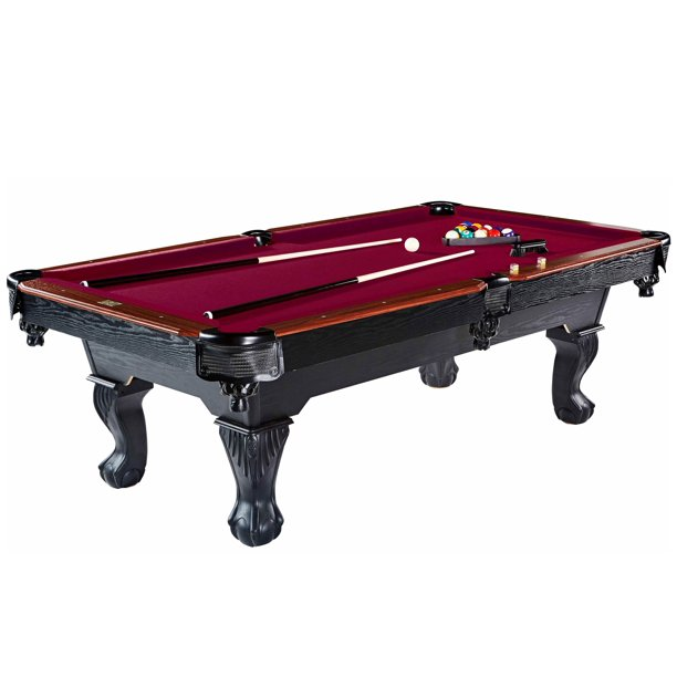 "Barrington Billiard 96"" Glendale Pool Table, Cue Set, Accessory"