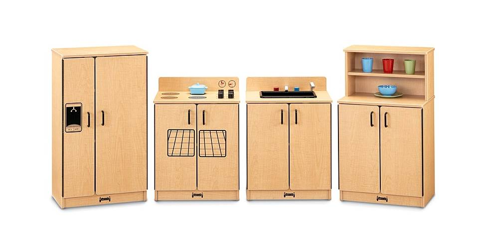MapleWave 4 Pc Toy Kitchen Set by Jonti-Craft