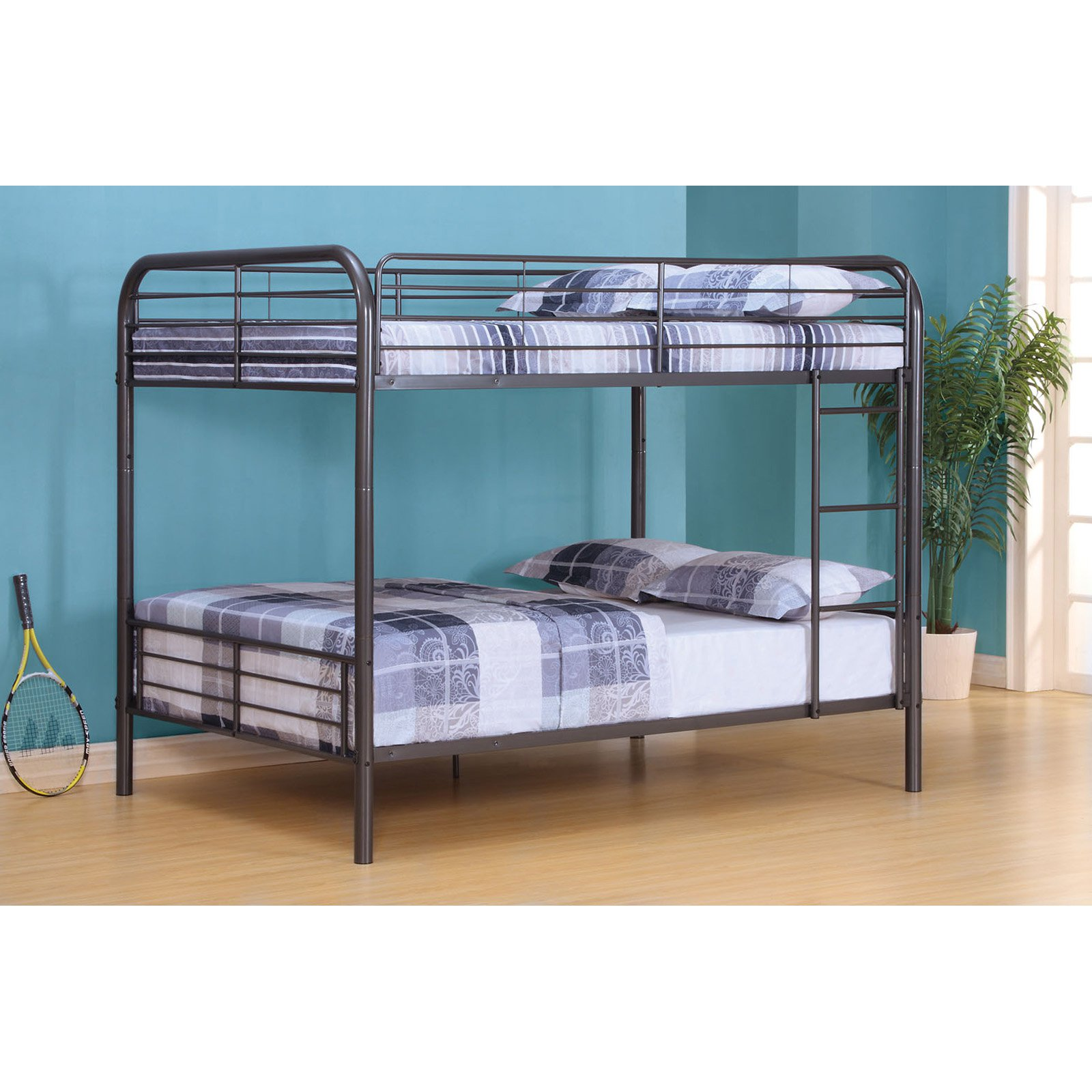 Acme Furniture Metal Bristol Full over Full Bunk Bed by Acme Furniture