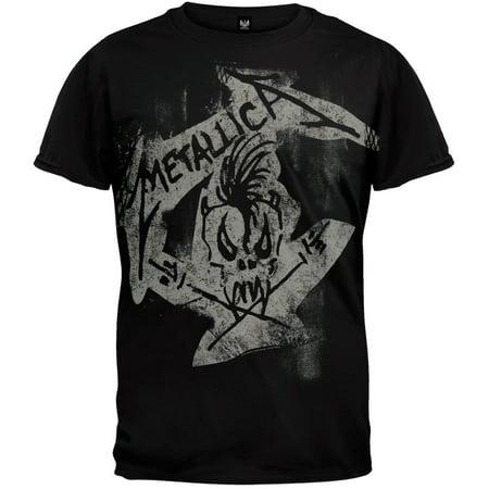 Metallica - Scary Guy Side T-Shirt (Metallica Scary Guy)