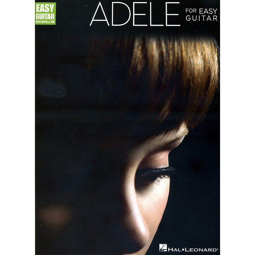 Hal Leonard Adele For Easy Guitar w/TAB