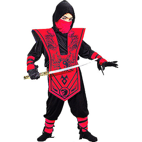 Complete Ninja Child Halloween Costume