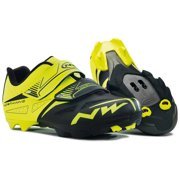 Northwave, Spike Evo, MTB shoes, Men's, Yellow Fluo/Black, 44