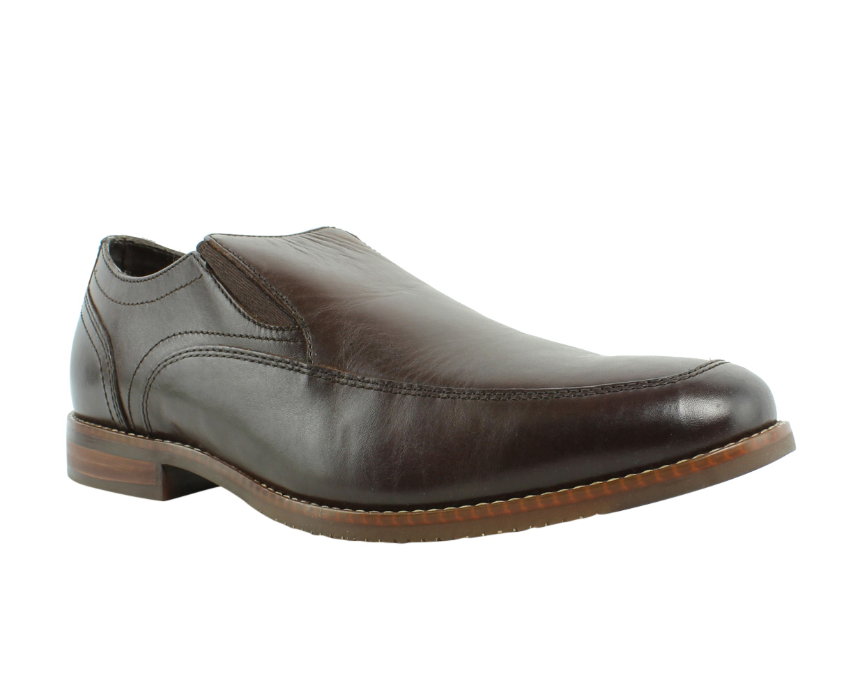 Rockport M77049 Brown Leather Loafers & Slip Ons Mens Casual Shoes Size 9 New by Rockport