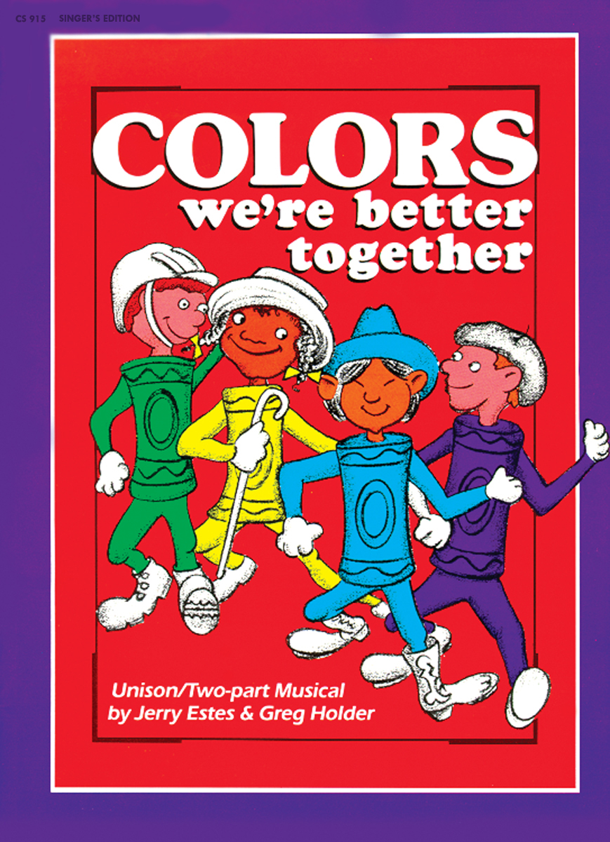 Colors Singer's Edition Greg Holder; Jerry Estes SongBook CS915 by