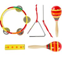 Kids Percussion Musical Instruments Toy Set by Hey! Play!