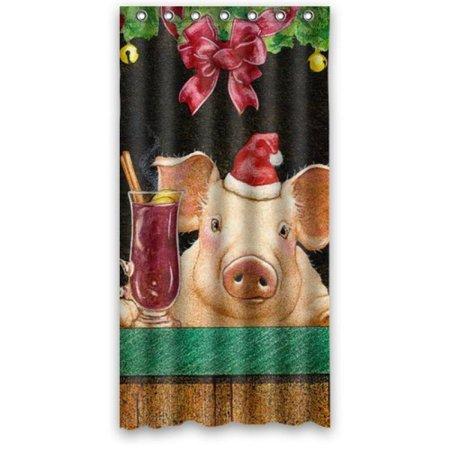 Funny Animal Shower Curtain