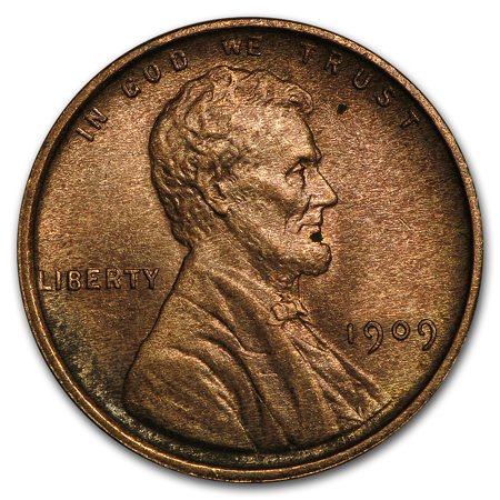 1909 VDB Lincoln Cent Uncirculated