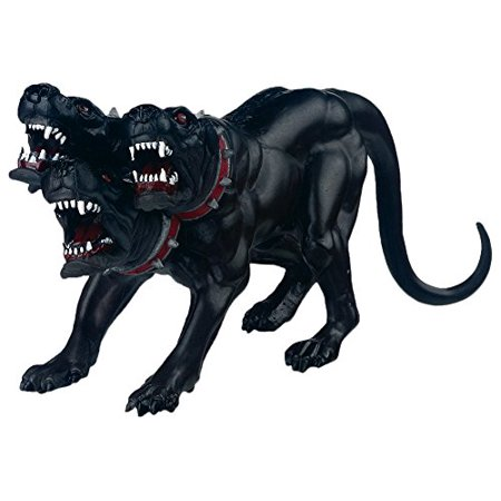 Fantasy World Figure, Cerberus, GUARDIAN OF THE UNDERWORLD - This three headed dog would terrify even the bravest warrior. This monstrous,.., By Papo](Cerberus 3)