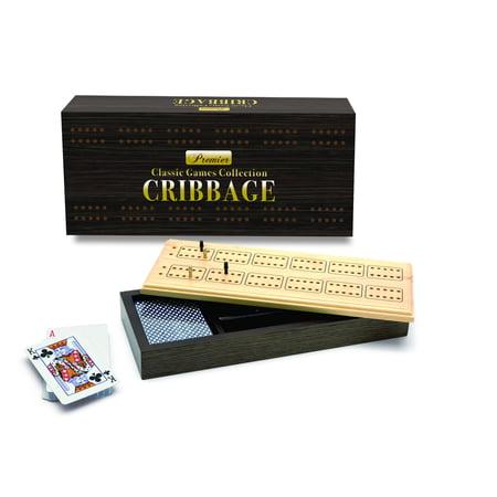 Premier Wooden Cribbage