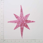 Expo Int'l North Star Beaded Applique