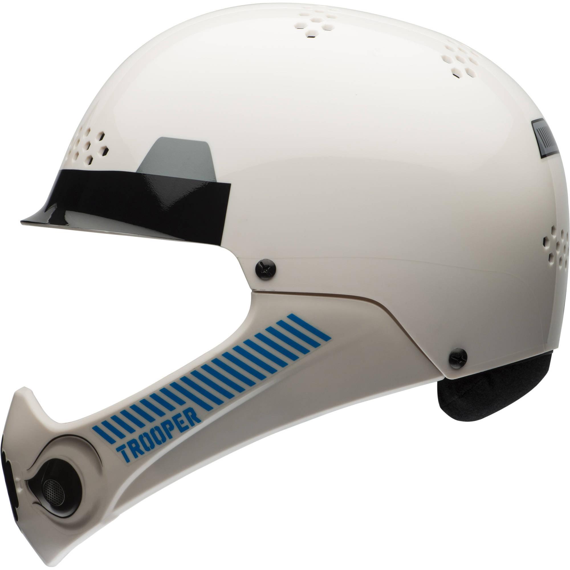 Bell Sports Star Wars Full-Face Storm Trooper Child Bike Helmet w/ Chinbar, White