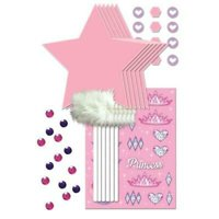 1PK Princess Wand Decorating Kit ,Party Supplies & Decorations