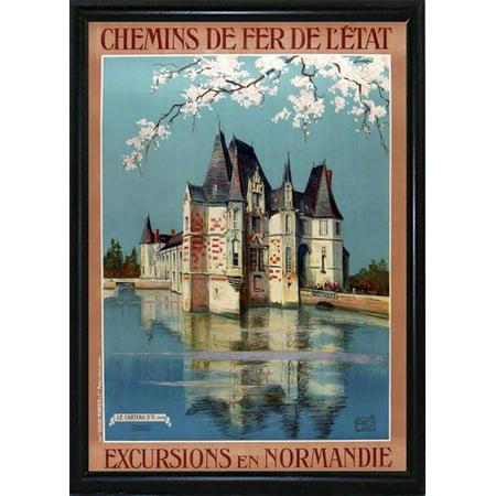 Winston Porter '1922 Excursions Normandie' Vintage - Porte Halloween