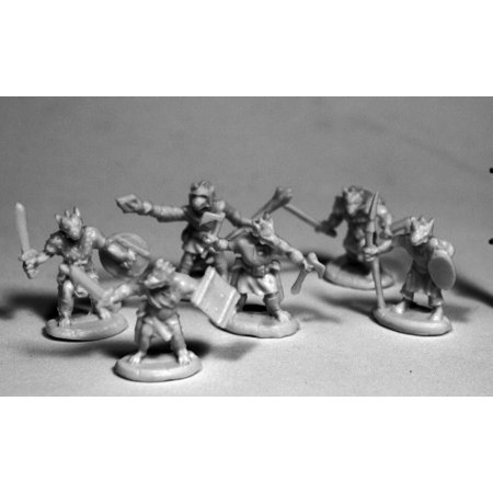 Reaper Miniatures Kobolds (6) #77506 Bones RPG D&D Mini Figure (Kobold Halloween)