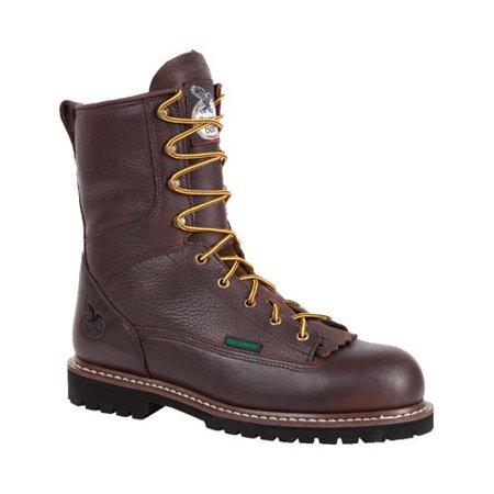 Men s Georgia Boot G101 8 Low Heel Logger