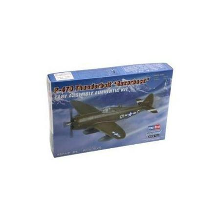 Hobby Boss Easy Assembly P-47D Thunderbolt Razorback Airplane Model Building Kit -