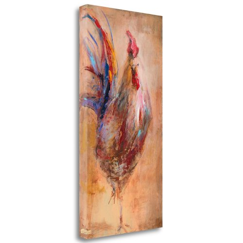Tangletown Fine Art 'French Rooster' Print on Canvas
