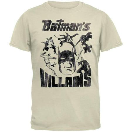 Batman - Villians Soft T-Shirt - Batman Girl Villians