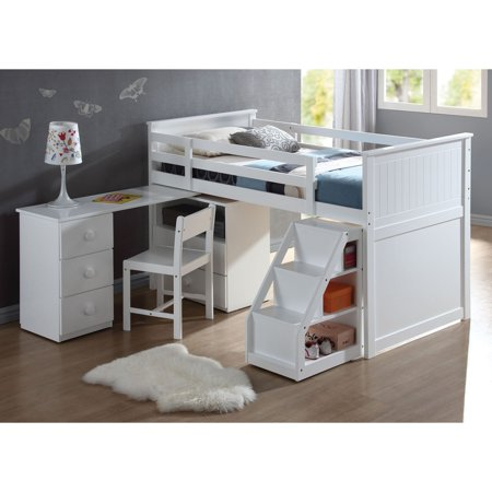 Acme Furniture Wyatt Study Chair White Walmart Com