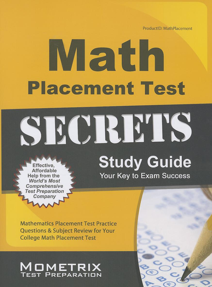 Math Placement Test Secrets Study Guide - Walmart.com