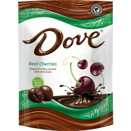 DOVE Fruit Dark Chocolate with Real Cherries, 17 Ounce Pouch