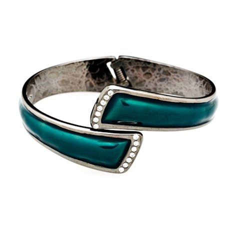 Fumi Bracelet Purse Hook Colors Teal With Pewter