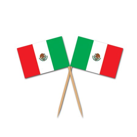 Mexican Flag Picks (Pack of 12) - image 1 of 1