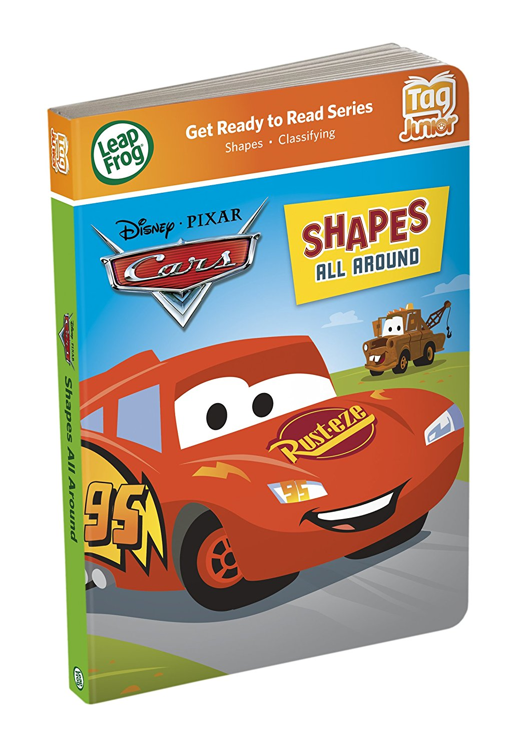 Tag Junior Book Cars Shapes All Around (works with LeapReader Junior), Learn all about... by