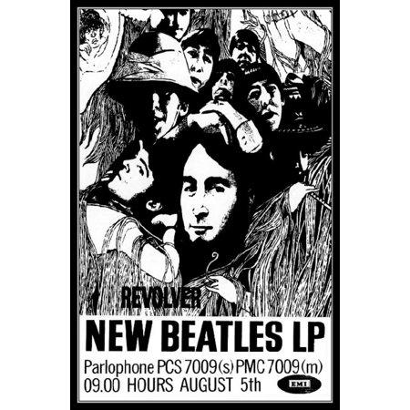 Beatles Revolver Poster Poster Print