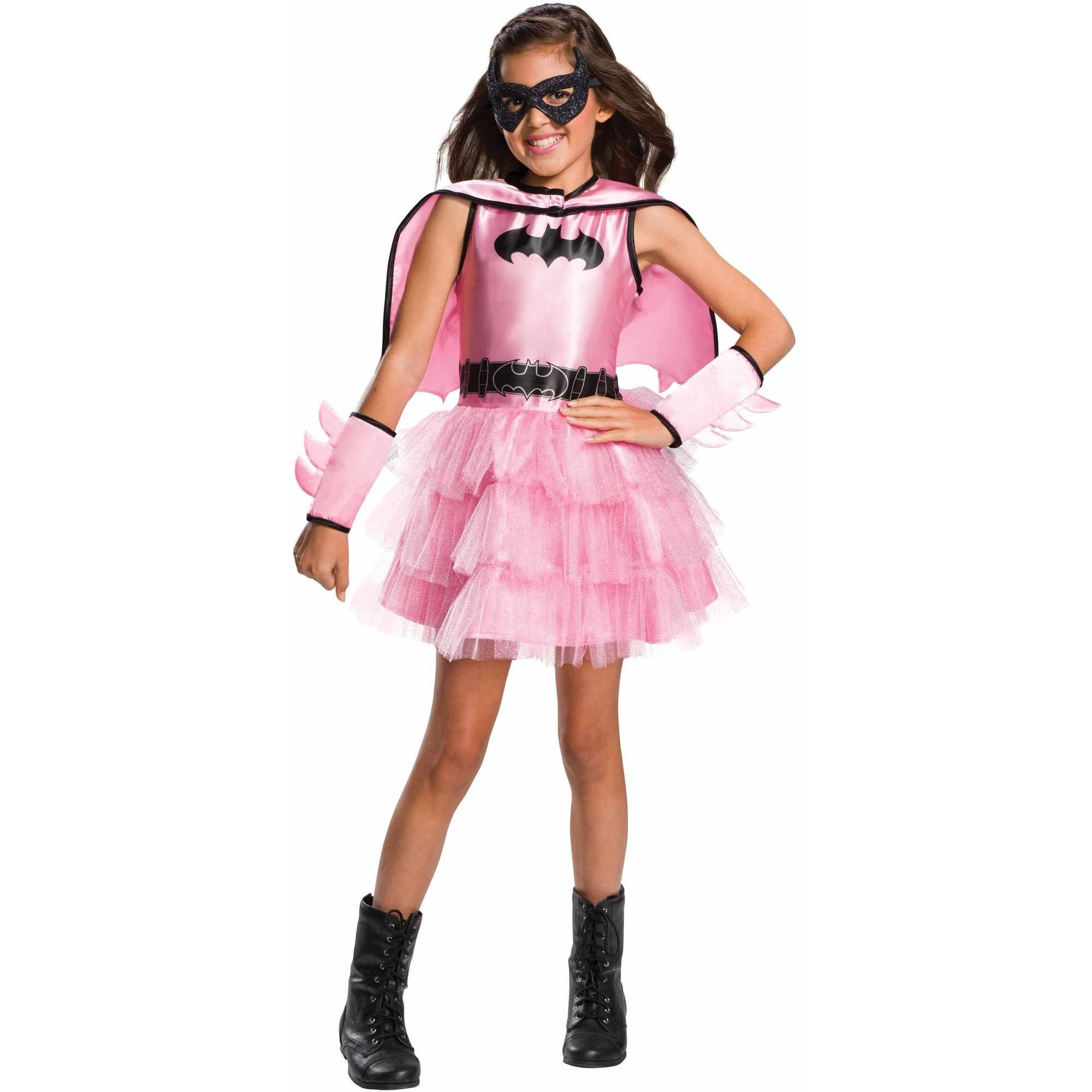 Pink Batgirl Child's Costume, Small (4-6)
