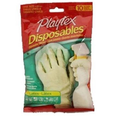 Product Of Playtex, Gloves Disposables - Latex, Count 1 - Gloves / Grab Varieties & - Latex Product